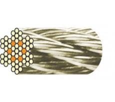 Bobine 100m Câble acier inox 7x7 fils LEVAC - 1260