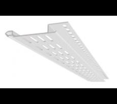 Profilé de ventilation NICOLL PVC - Blanc - PVSF2B