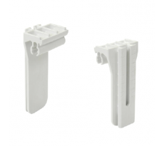 SUPPORT CROCHET BELRIV PVC BLANC