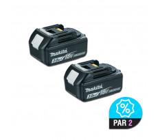 Lot de 2 batteries MAKITA BL1830 - 18V 3.0 Ah