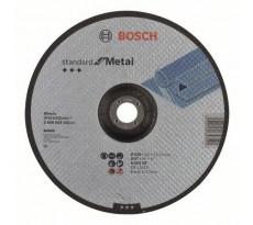 Disque à tronçonner BOSCH à moyeu déporté Standard Pour le Métal 230X3 MM - Lot de 25 - 2608603162