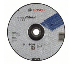 Disque EXPERT à tronçonner BOSCH à moyeu déporté Spécial métaux 230X2.5 MM - Lot de 25 - 2608600225
