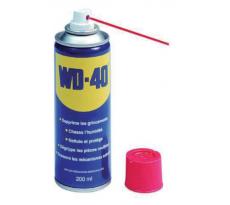 Huile lubrifiante WD40 Aerosol - Cartouche de 200ml - Lot de 36 - 33002