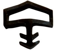 Joint pour portes intérieures KISO - rainure 4mm - 75M - M 0680 Transparent