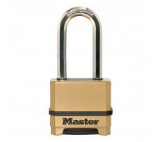 Cadenas Excell® en zinc MASTERLOCK 56 mm - Combinaison programmable - M175EURDLH