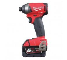 Visseuse à chocs MILWAUKEE M18FID-502X - 2 batteries 5.0Ah, chargeur, en coffret - 4933451066