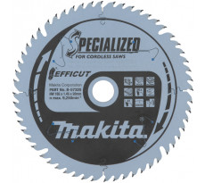 Lame carbure Multi-bois Efficut 165x20 mm 56 Dents MAKITA - B-57320