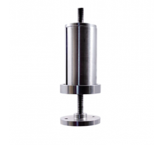 Poteau d'escalier Ø 42.4 mm DESIGN PRODUCTION - fixation pince marche - inox 304 - 200.44.422.41