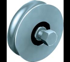 Système rails MANTION - Rond - pour portail rails au sol - 486000