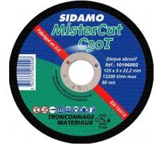 Disque à tronçonner MisterCut SIDAMO SA - 1010600