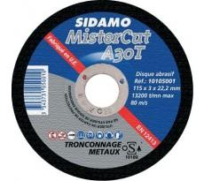 Disque à tronçonner métal MisterCut SIDAMO SA - 1010500