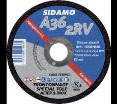Disque à tronçonner plat métal / inox SIDAMO SA - 1060106