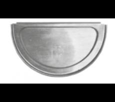 Talon symétrique lyonnais VM ZINC en zinc naturel - 20816