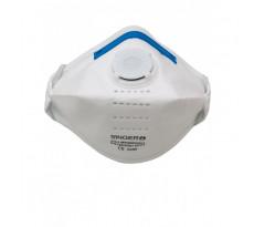 Demi-masque respiratoire filtrant SINGER FFP3 soupape - AUUMP300VSL