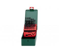 Coffret de forets HSS-R METABO - 25 pièces - 627152000
