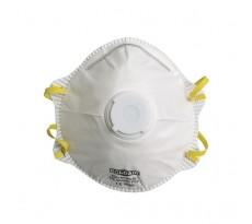 Demi-masque SINGER classique avec valve FFP1 Boite de 10 pièces - AUUM10VSL