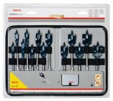 Coffret de mèches plates BOSCH Self Cut Speed - Ø10mm à Ø32mm - 2608587010