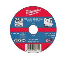Lot de 25 disques à tronçonner MILWAUKEE - Ø230mm - 4932490071