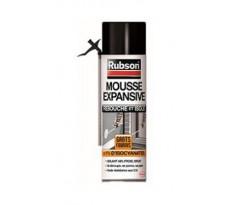 Mousse expansive Isole RUBSON - isolation thermique et phonique - 500ml - blanc - 1710071