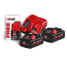 Pack Batterie NRJ 18V 3Ah High-Output Red Li-Ion MILWAUKEE - 4933471071