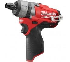 Perceuse visseuse MILWAUKEE M12CDD-0 12V - Sans batterie ni chargeur -  4933440400