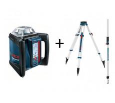 Laser rotatif horizontal BOSCH GRL 500 H + trépied BT170 + Mire GR240 - 06159940EE