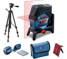 Laser points et lignes BOSCH GCL 2-50 C Professional - Avec trepied BT 150 - 0601066G02
