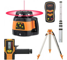 Laser rotatif auto GEO FENNEL FL245HV + trépied FS20 + mire TN14 - 244021-S01