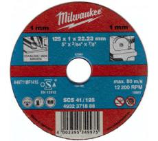 Lot de 50 disques à tronçonner MILWAUKEE - Ø115mm - 4932371902