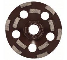 Meule diamantée BOSCH EXPERT Pour Abrasive, résine, peinture, colle, amiante Ø125 MM - 2608602553