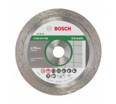 Disque diamant BOSCH Best For Ceramic - Ø76mm - 2608615020