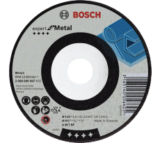 Meule à ébarber BOSCH - Ø115 x 6.0 mm - 2608600218