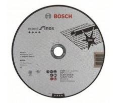 Disque EXPERT à tronçonner BOSCH à moyeu plat Spécial inox 230X2.0 MM - Lot de 25 - 2608600096