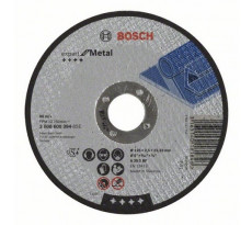 Disque EXPERT à tronçonner BOSCH à moyeu plat Spécial métaux 125X2.5 MM - Lot de 25 - 2608600394