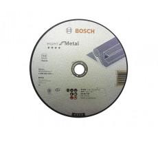 Disque EXPERT à tronçonner BOSCH à moyeu plat Spécial métaux 230X1.9 MM - Lot de 25 - 2608603400
