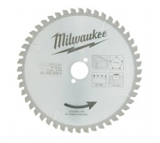 Lame de scie radiale MILWAUKEE Bois 216 mm 48 dents - 4932352840