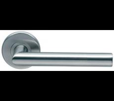 Ensemble de porte NORMBAU - plaque inox - ligne 19 V19 - 545000