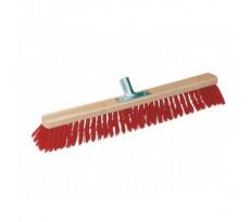 Balai synthétique rouge - Longueur : 600 mm - 863090
