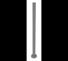 Poteau avec tube soudé Ø42.4 x 2 H.970mm Inox 304 DESIGN PROD - E0042