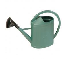 Arrosoir plastique 11 litres VINMER Ovale vert avec pomme - 171101