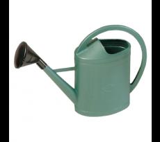 Arrosoir plastique ovale vert avec pomme 11 litres 563041
