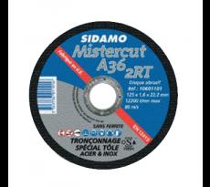 DISQUE TRONCONNER MET/INOX PLAT 125X1.6   A36/2RT