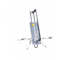 Table de découpe au fil chaud dépliable EDMA - pour polystyrène - spécial I.T.E. - 367155