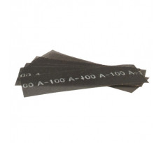 Feuille abrasive treillis EDMA - 280 x 93 mm - grain 120 - 10 feuilles - 163655
