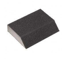 Éponge abrasive angulaire 120x90x25 mm Grain 60 EDMA - 163355