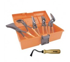 Pack starter zingueur pro EDMA - 6 outils + malette - 620003