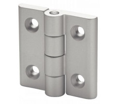 Charniere plate EMILE MAURIN en aluminium - 37-110-50
