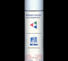 Spray nettoyant alu decrassant/lustrant ref 021spr mo al