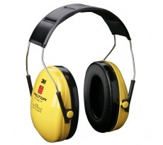 Casque antibruit 3M Peltor Optime1 - avec protection auditive visible - H510010