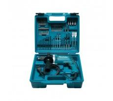 Perceuse à percussion MAKITA - 710W + kit accessoires - HP1631KX3